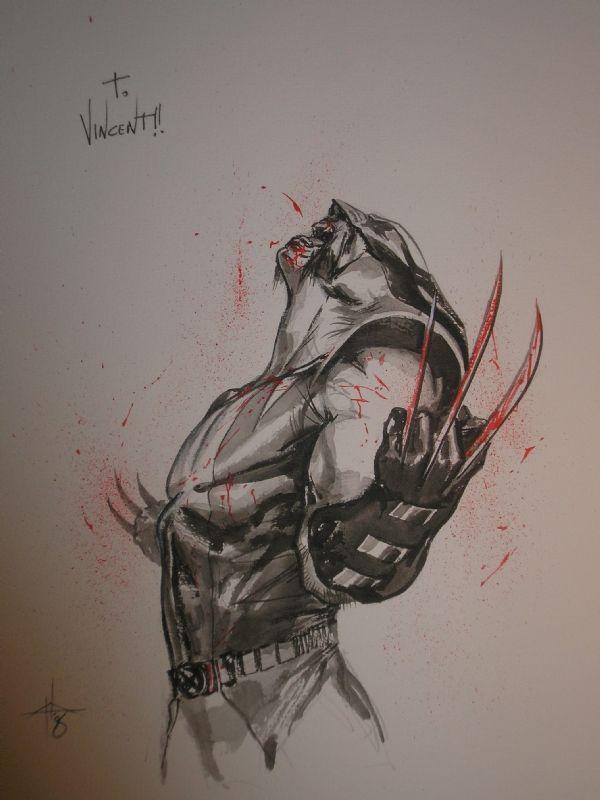 Future tattoo, I think ---> Wolverine by Gabriele Dell'Otto