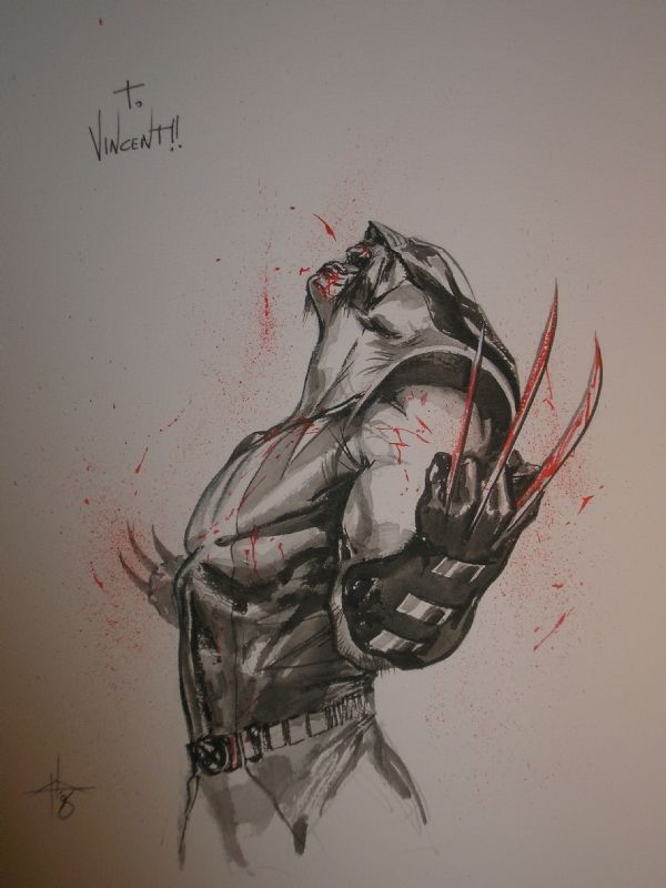 Future tattoo, I think ---> Wolverine by Gabriele Dell'Otto