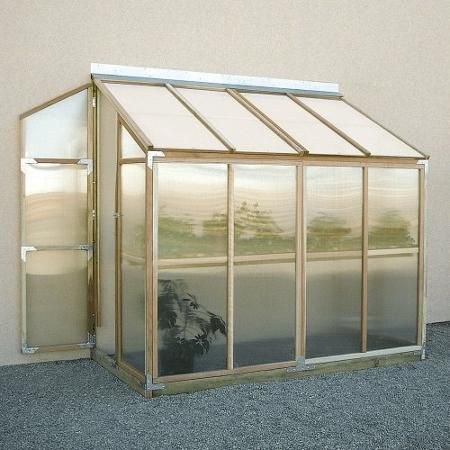 Sunshine Lean To 4 x 8 Foot Greenhouse - Walmart.com