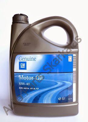 Auto Parts Skarkalas: Λιπαντικό κινητήρα GM 10W40
