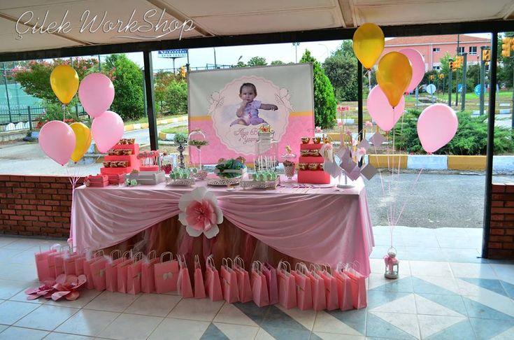 1 yaş melek temalı doğum günü organizasyonu - 1 (8)
