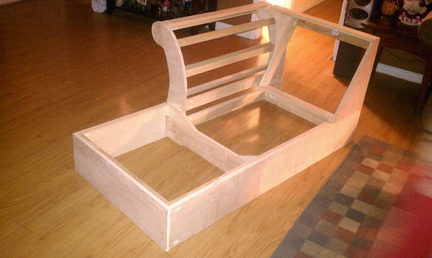 Picture of Build a Chaise Frame from Scratch