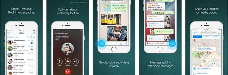 App Screenshot Example WhatsApp  -----  Describe your app's features