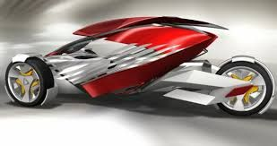 Image result for three wheel electric car