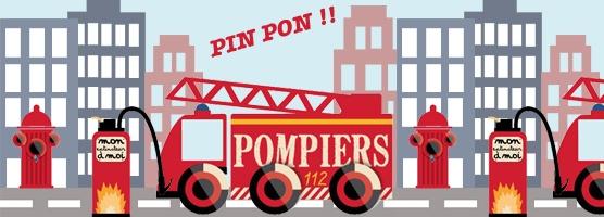 Grande collection de stickers pompier