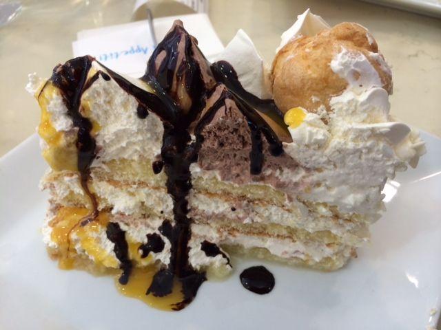 Another fantastic #dessert in #City #Arkaden #Klagenfurt #Austria , #Gelati #Eis #Caffe . This #cheat #meal is worth a plus #running :-)