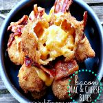 Tired of tiny appetizers? Make Copycat TGI Friday's Bacon Mac & Cheese Bites at home!