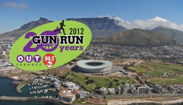 Cape Town Gun Run   October   Cape Town Stadium Vlei Road Greenpoint