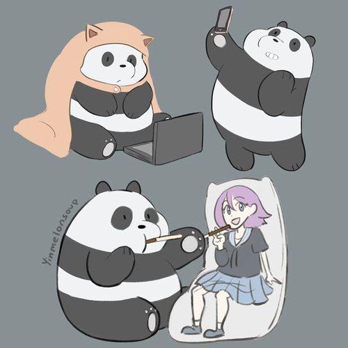 We Bare Bears- Panda #Cartoon | We bare bears, Bare bears ...