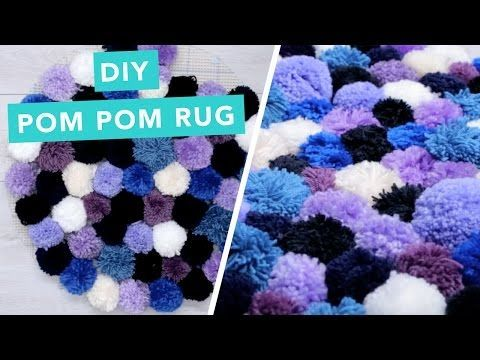 DIY Pom Pom Rug | Nailed It - YouTube