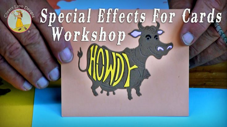 Special Effects For Cards Workshop - Cheery Lynn Designs