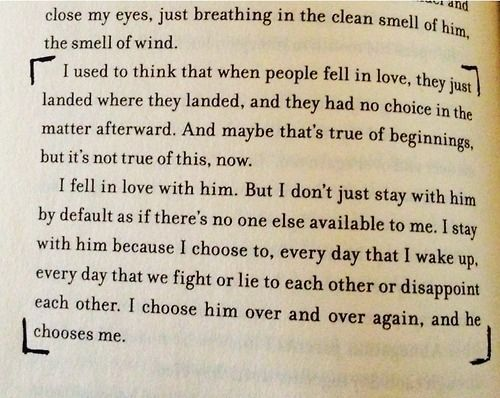 These two paragraphs were what finally made me fall in love with the Divergent series. I reread them like three times before moving on.