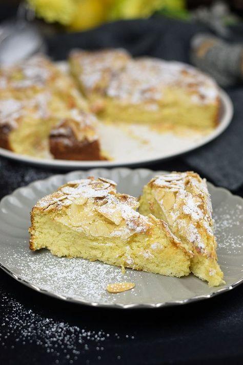 Unglaublich saftig: Schwedischer Mandelkuchen mit Zitrone (Glutenfrei)   Das Knusperstübchen   Bloglovin'