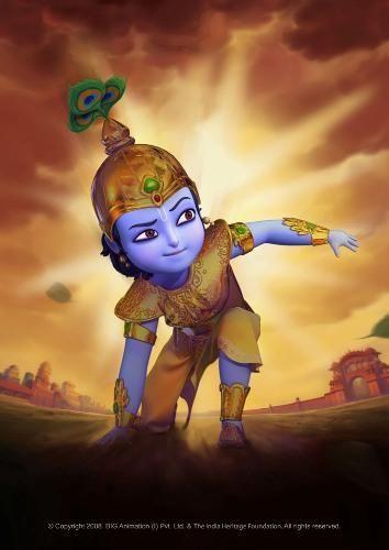 Little Krishna | Little Krishna wallpapers - Religious Others Wallpaper Uploaded by ...
