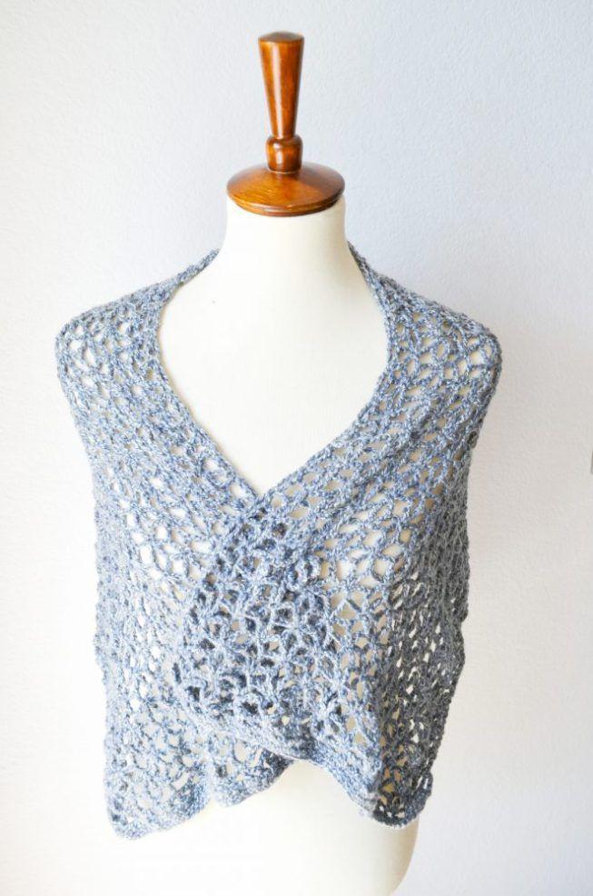 Lace Star Flower Wrap Crochet Pattern | Crochet IT | Pinterest ...