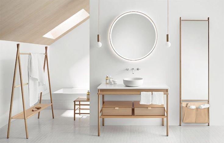 74 best Salle de Bains images on Pinterest - espace entre plan de travail et meuble haut