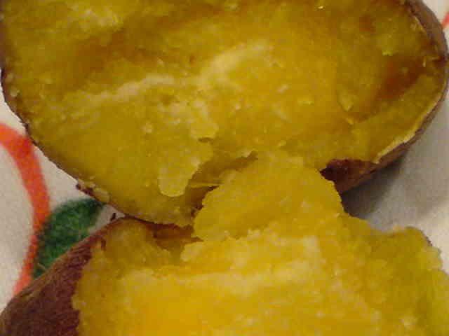 しっとりねっとりの焼き芋の画像
