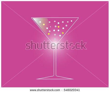 Drink icon design vector background.