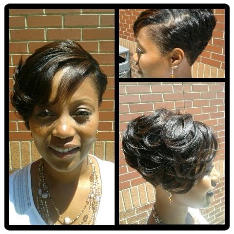 Enjoyable 1000 Ideas About Megan Good Haircut On Pinterest Best Haircuts Short Hairstyles Gunalazisus