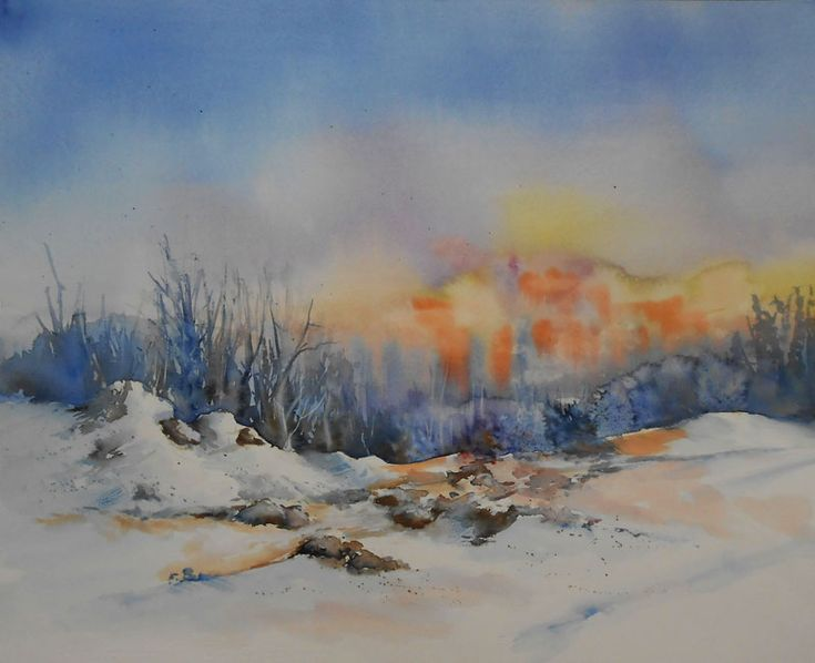 Tableaux aquarelle paysages par Josette MARREL ...
