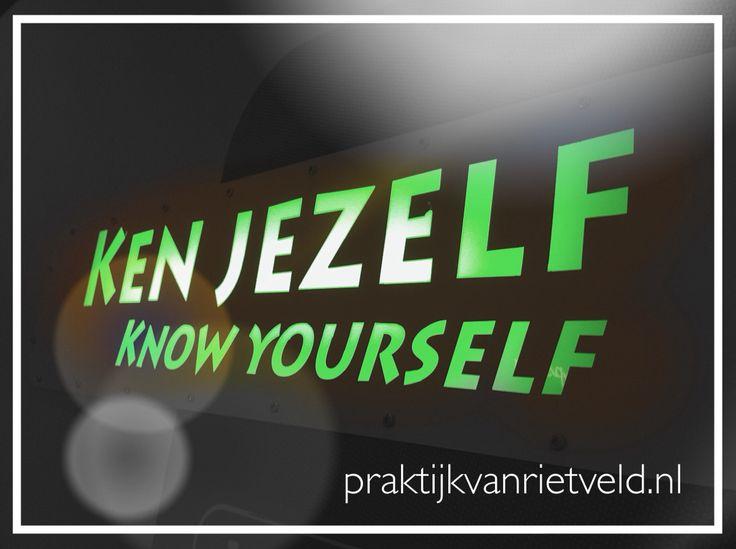 Ken jij jezelf? Het is de moeite waard!