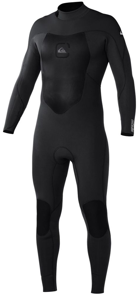 Quiksilver Syncro Wetsuit Men's 4/3m GBS Wetsuit Back Zip The new Quiksilver Syncro wetsuit offers superior flexibility and warmth at an unbelievable price! The Syncro wetsuit uses 100% FN Lite neoprene through out. The chest plate has Thermo...