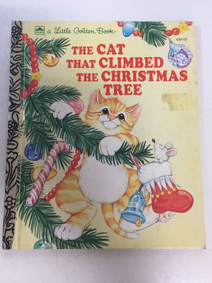 The Cat That Climbed Christmas Tree