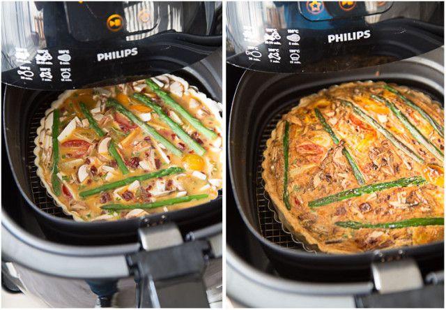 Lijst met bereidingstijden met de Airfryer: Aardappelblokjes vers bereiden :, voorgesneden niet voorgebakken bereiden : 8 min. op 180 graden Celsius. Aardappelblokjes van Colruyt (bevroren) bereiden : 6 min. op 200 graden Celsius, halverwege eens schudden. Aardappelgratin bereiden : 15 min.. op 180 graden Celsius Aardappel Gratin Dauphinois bereiden : van de Aldi bereiden :Read More