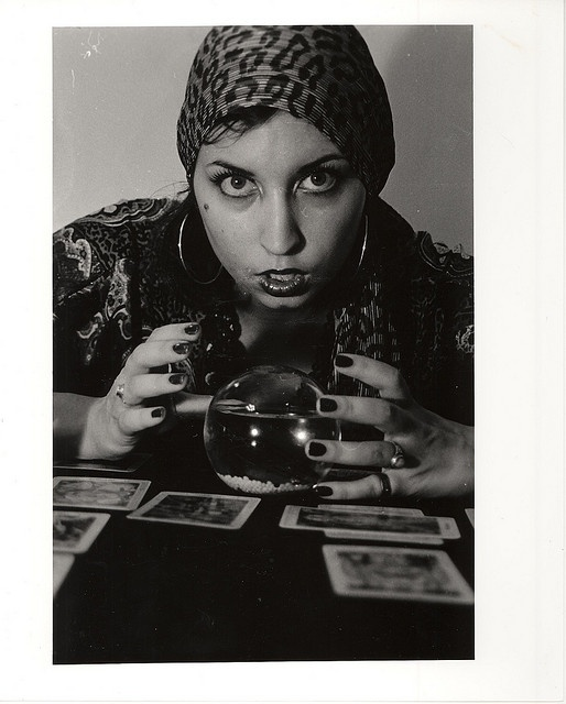 Gypsy Fortune Teller by Alliegee, via Flickr