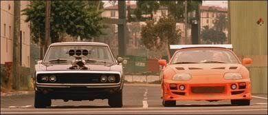 Rápido y Furioso (A todo gas)  Año de emisión: 2001 - Auto/s: 1970 Dodge Charger & 1995 Toyota Supra
