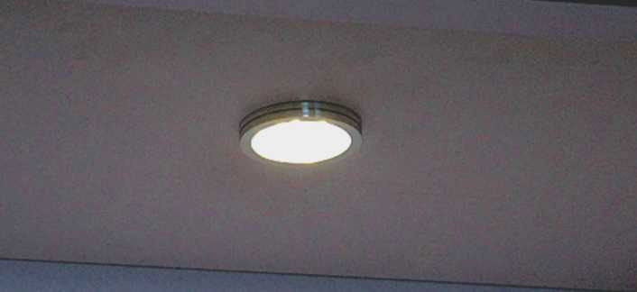LED Round Down Light   Model:L7.01.103   with Transformer, Alum. Price:Rs1449
