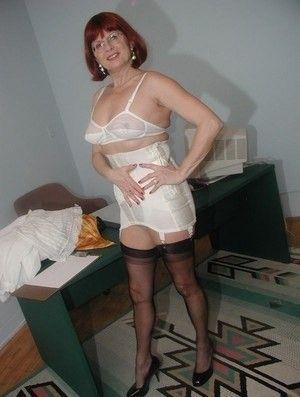 Best mature girdle pics remarkable