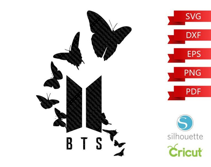 Download BTS Butterfly SVG, Bangtan Boys eps, Beyond The Scene png ...