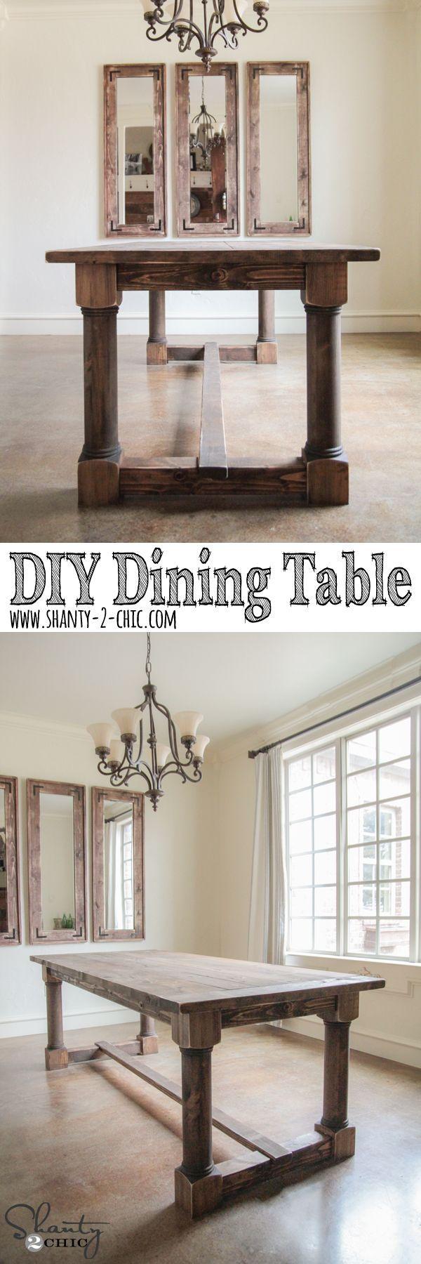 38 best Dining Room DIY Plans images on Pinterest | Dining room ...