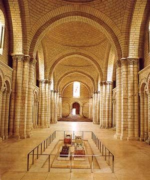 The #nef of the abbey royale of Fontevraud