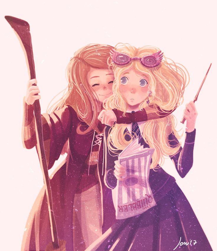 Ginny & Luna! :) by Space Dementia – Sleepless Muggle
