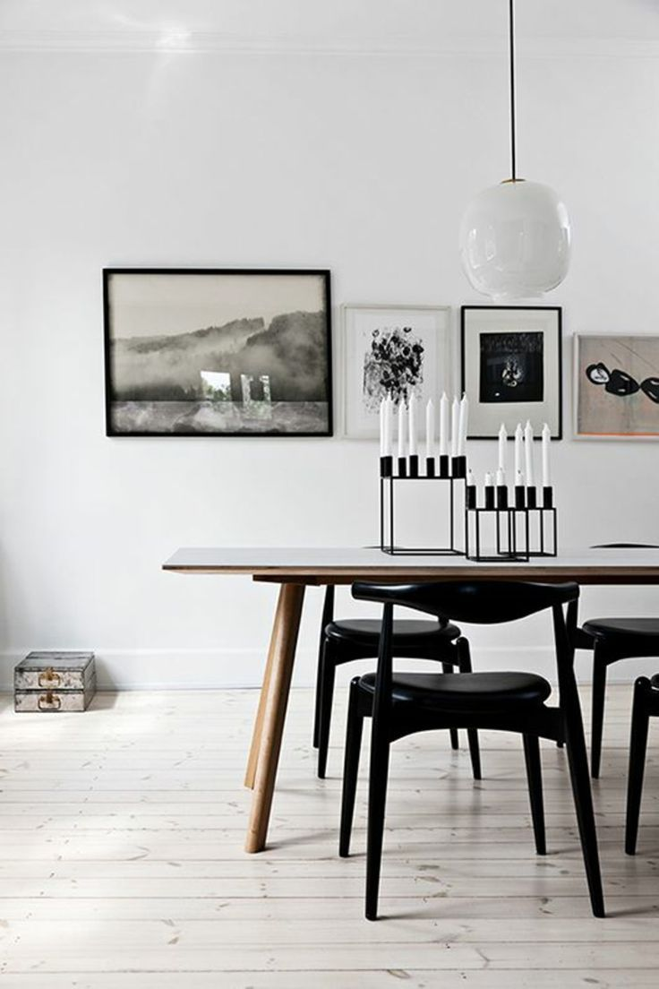 Scandinavian Style Dining Room Furniture: 20+ Best Ideas About Scandinavian Dining Table On