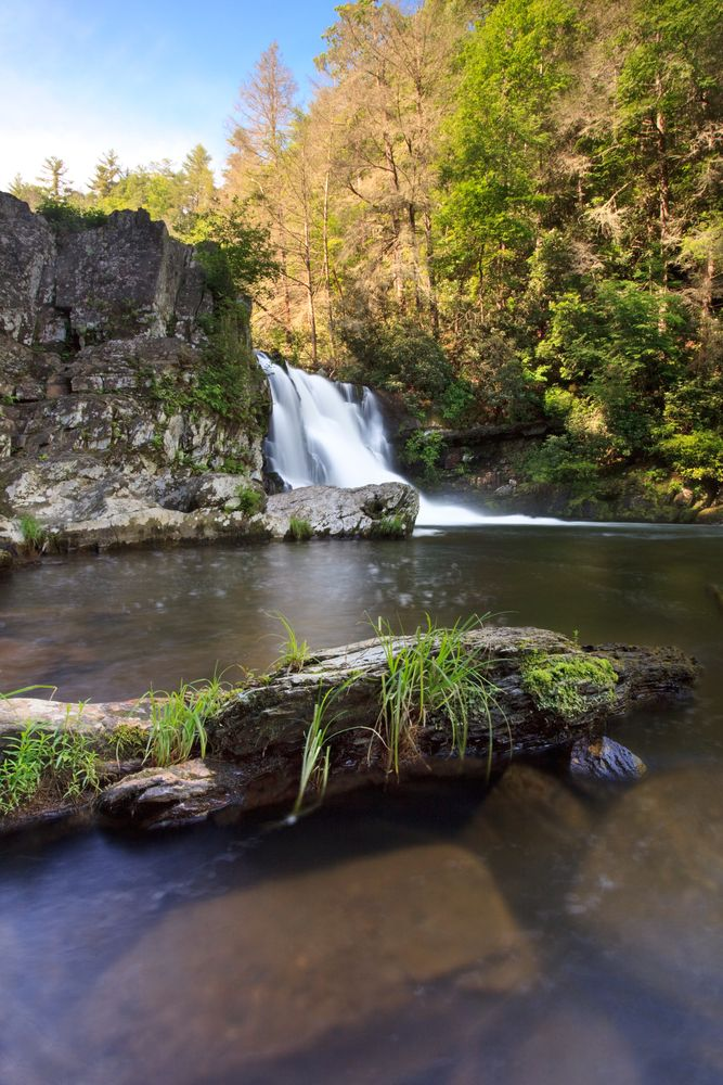 Abram's Falls in Cades Cove - Such a beautiful hike http://www.pantherknobcottages.com