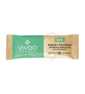 Energy fruitbar con spirulina e burro di cacao Vivoo
