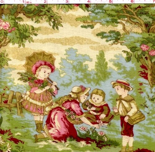 12 best Delightful Toile Fabrics images on Pinterest | Toile ... : toile quilting fabric - Adamdwight.com