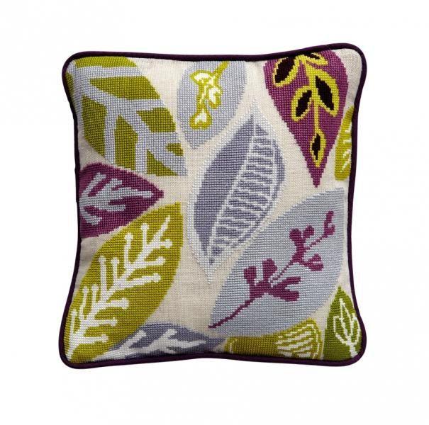 Scandinavian Retro Cushion Lead - pdf pattern for tapestry (needlepoint). $5.00, via Etsy.