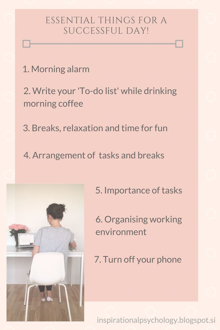 Do you want to know how to be more productive in your working day? Do you want to be even more successful? Check this! I shared my 7 tips for a productive day... #planner #productivity #success #college #work #tips #tricks
