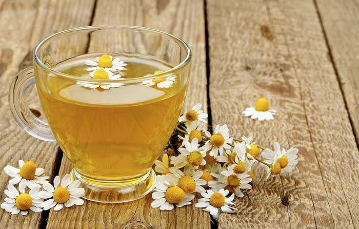 How To Bleach Hair - Chamomile Tea