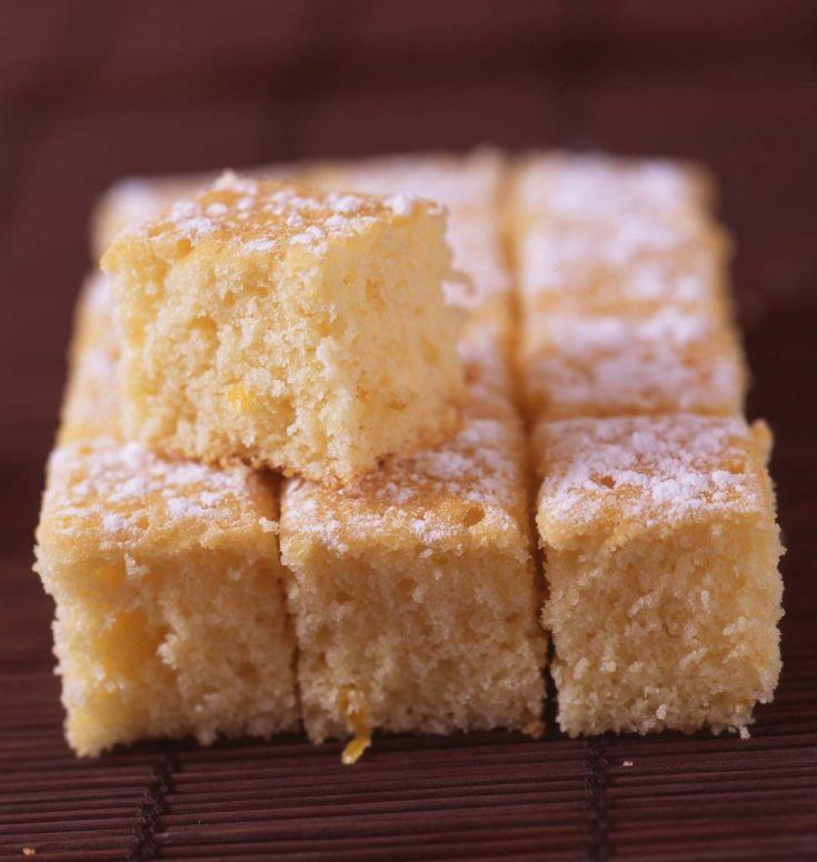 Gâteau léger au citron - les meilleures recettes de cuisine d'Ôdélices