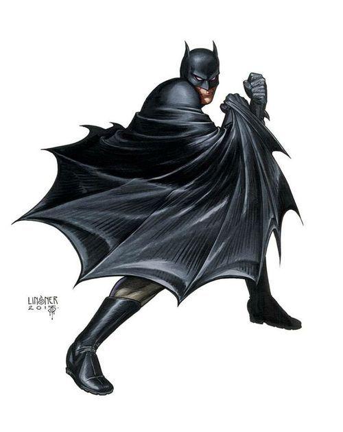 Batman by Joseph Michael Linsner