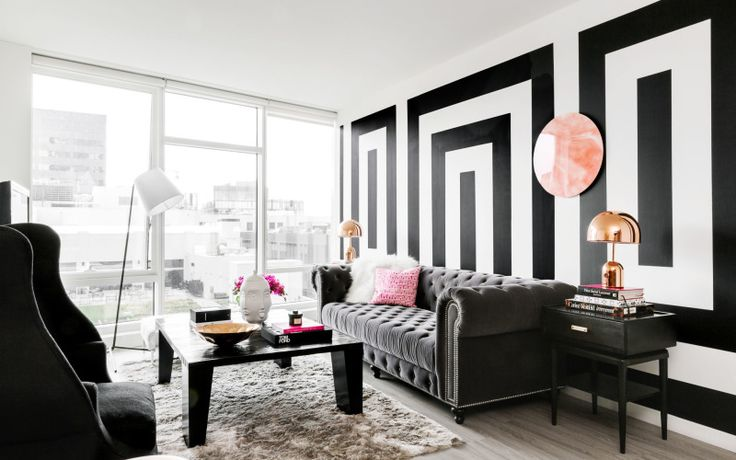 A San Francisco Apartment All in Black & White