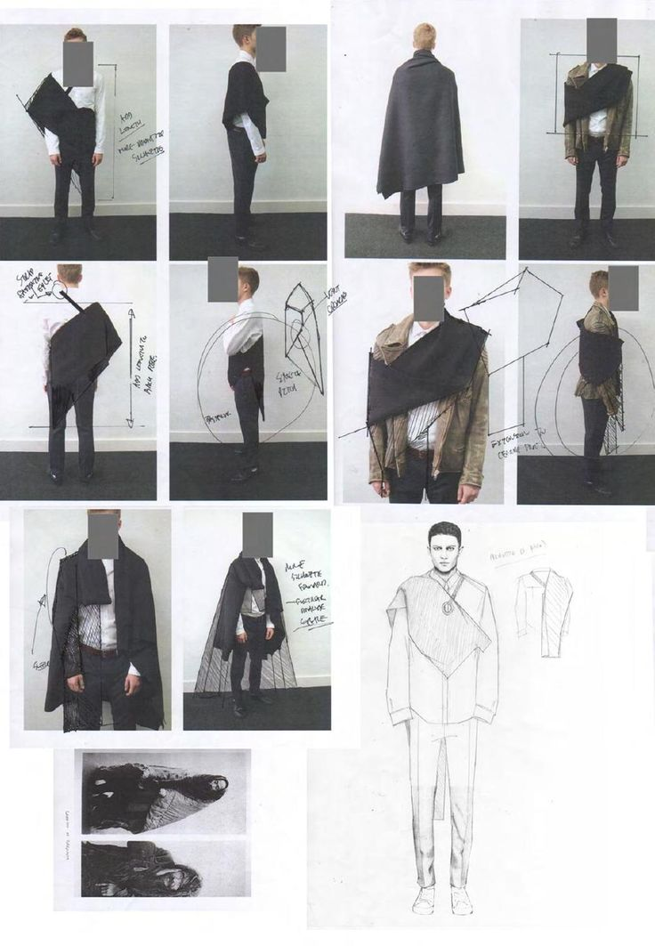 Fashion Sketchbook - fashion design development; fashion sketches; fashion portfolio // Niall Cottrell