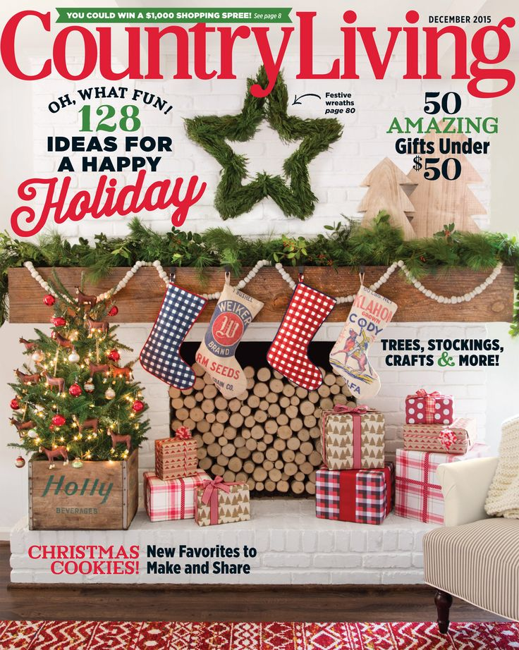 Which Of Our Two December Covers Did You Get Pick Up A Copy Of Country Christmas Cookie Recipescountry Living Magazinechristmas