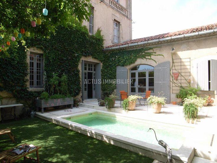 16 best images about vente et achat hotel particulier en for Maison salon de provence