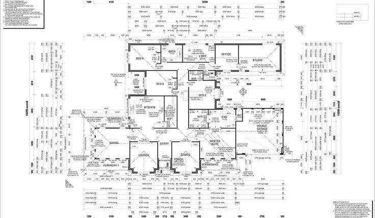 Brabham house  Floorplan